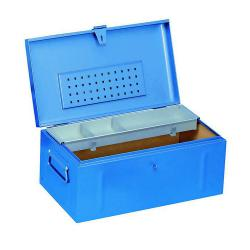 Werkzeugkoffer JUMBO - Stahlblech - mit Spezialinnenauskleidung