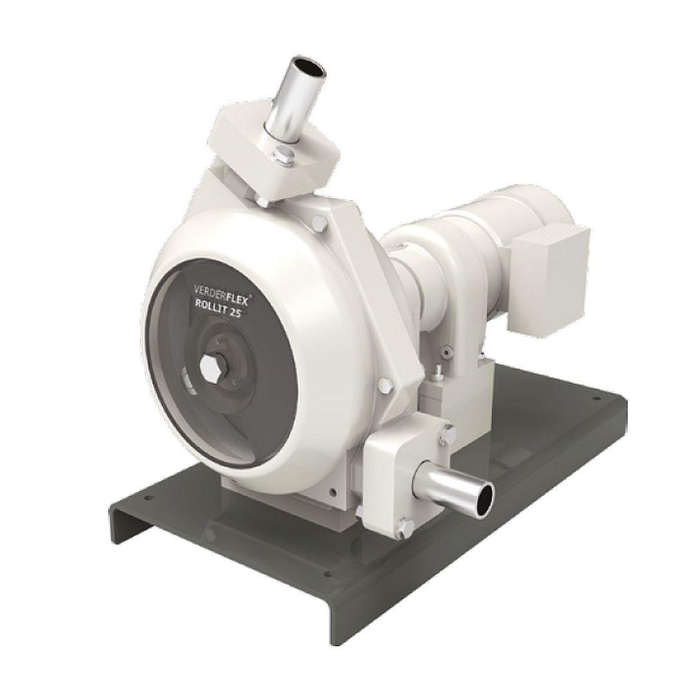 Peristaltisk pump Rollit Hygienic 35 - max. 2 bar - max. 1,5 kW - max. 3816 l / h - bortskämd slang