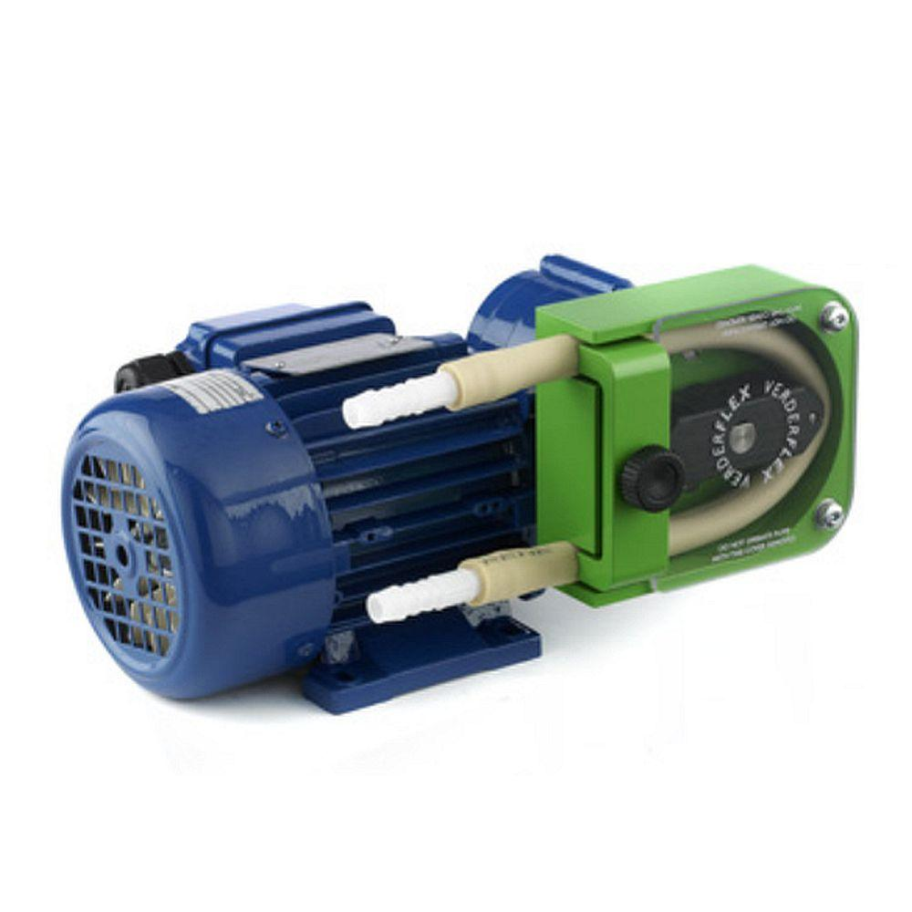 Schlauchpumpe Verderflex Rapide R-Serie - max. 2 bar - max. 0,18 kW - max. 14000 ml/min -WS max. 4,8 mm