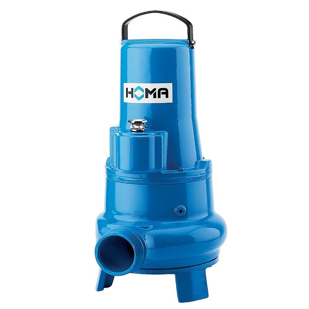 Schmutzwassertauchpumpe TP50 M - max. 4,4 kW - max. 81,9 m³/h - mit/ohne Schwimmschalter