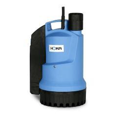 Pompa sommergibile con raffreddamento a camicia per acqua pulita e sporca - 0,26 kW - 12 m³ / h - con interruttore a galleggiante