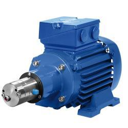 Växelpump Verdergear VGS standard - max. 330 l / min - max. 17 bar - max. 3000 rpm - litet pumphuvud