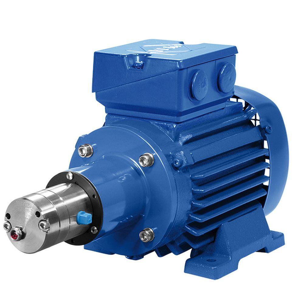 Pompa a ingranaggi Verdergear VGS standard - max. 330 l / min - max. 17 bar - max. 3000 rpm - piccola testa della pompa