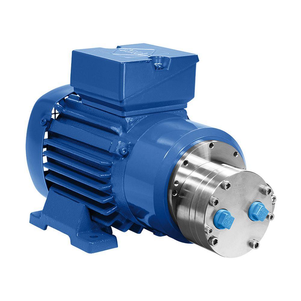 Pompa a ingranaggi Verdergear VGS standard - max. 1300 l / min - max. 10 bar - max. 3000 rpm - grande testa della pompa