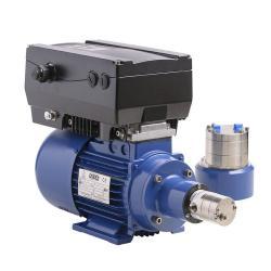 Växelpump Verdergear VGS 230 V - max. 330 l / h - max. 17 bar - 0,37 kW - litet pumphuvud
