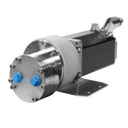 Pompa a ingranaggi Verdergear VGS 24 V - max. 1486 l / h - max. 10 bar - 3300 rpm - grande testa della pompa