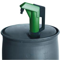 Hand pump for oils / diesel - 0.3 l / stroke - 2 inch connection - 1.4 kg - adjustable suction pipe