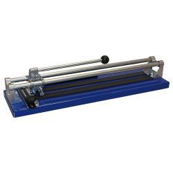 Machine à couper et casser les carreaux avec kit de perçage - longueur de coupe 450 mm - butée diagonale