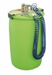 AUTRASYS-Fasshalter - manuelle Teilewäsche - stabile Halterung auf Reiniger-Fässern