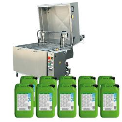 HTW-II-800 - startpaket med BIO-utrustning inklusive 200 liters L EVO universalrengöringsmedel med mikroorganismer