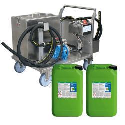 RWR-80 L - Start-Up-Paket inklusive 2 x 20 Liter POWER CLEANER 400 zur Reinigung von mineralischen Ablagerungen