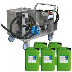 RWR-80 L - Start-Up-Paket inklusive 5 × 20 Liter CB 100 Entfetter mit Nature-Boost Technologie