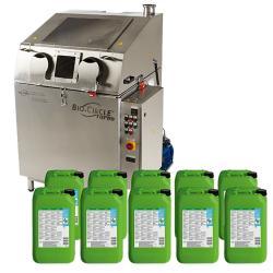 TURBO 800 - manuelle- oder automatische Teilereinigung - Start-Up-Paket mit 200 Litern  L EVO Universalreiniger mit Mikroorganismen