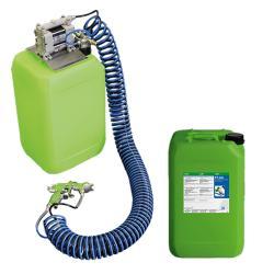 Start-Up-Paket AUTRASYS - Druckluft Auftragsystem - inklusive 20 Liter FT 200 phosphatfreiem Reinigungsmedium