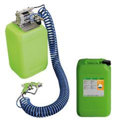 Start-Up-Paket AUTRASYS - Druckluft Auftragsystem - inklusive 20 Liter E-WELD 2 Schweißtrennmittel