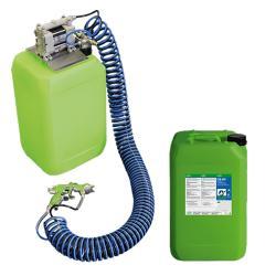Start-Up-Paket AUTRASYS - Druckluft Auftragsystem - inklusive 20 Liter CB 100 Entfetter mit Nature-Boost Technologie