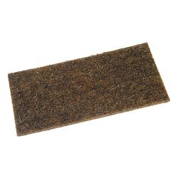 Replacement friction plate - hair felt - dimensions 280 x 140 x 10 mm