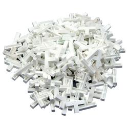 Tees Tile - Plastik - Szerokość od 4 do 8 mm - 200 sztuk.