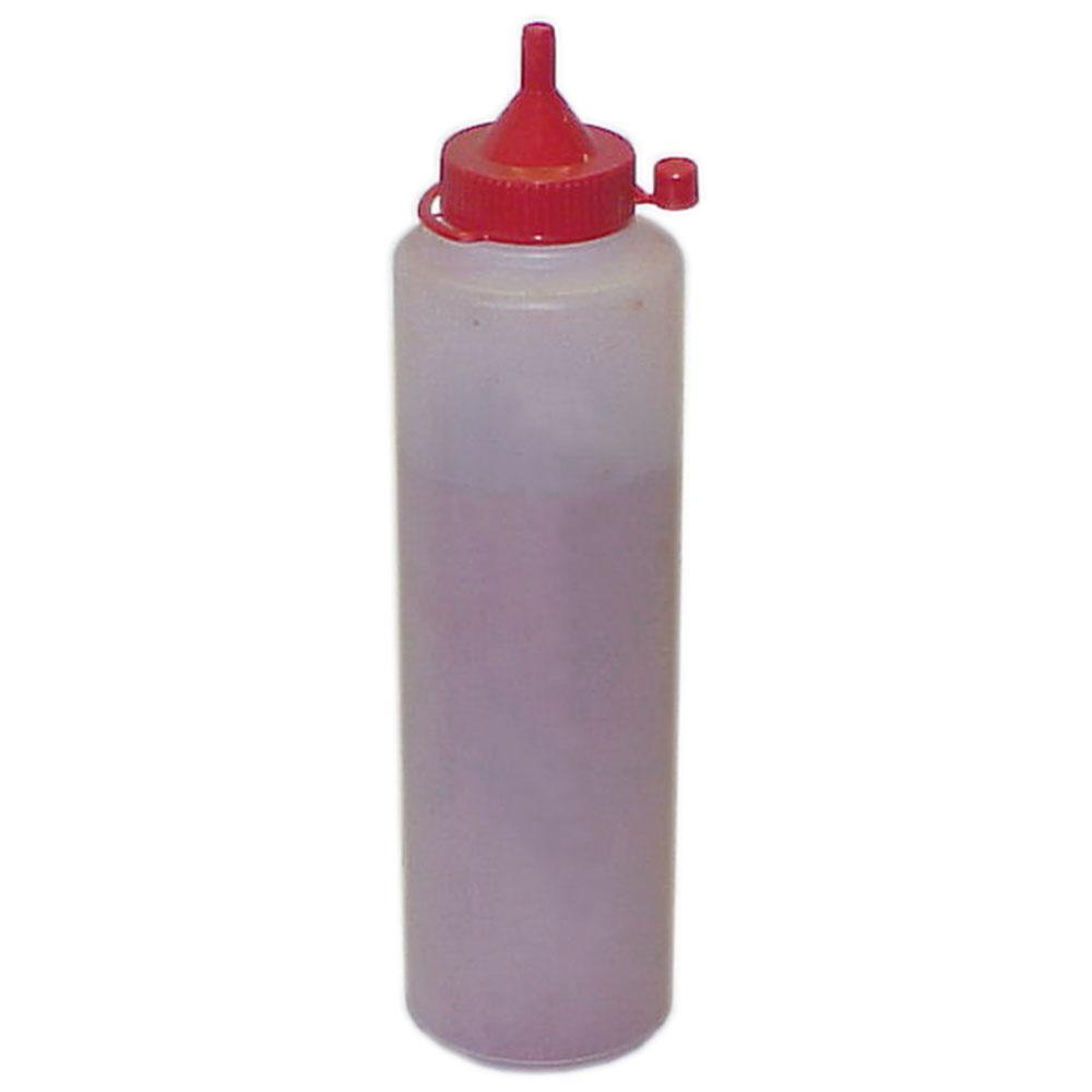 Fargepulver - for krittlinjenhet - flaske 100 til 250 g - blå eller rød