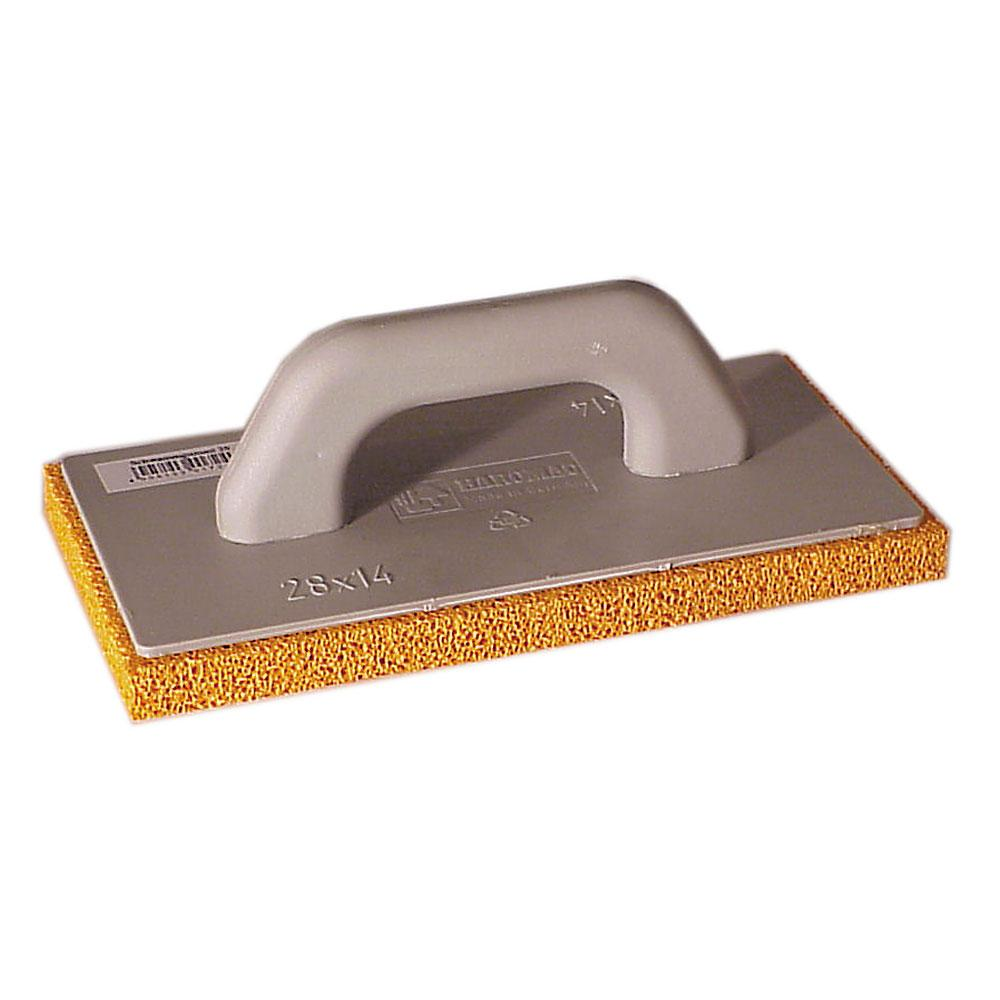 Rubbing board - sponge rubber - covering 10 to 20 mm - with plastic handle