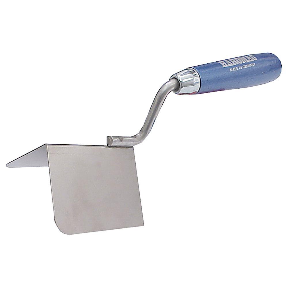 Außeneckenkelle - rostfreier Edelstahl - Winkel 90° - Breite 60 bis 100 mm - Länge 80 bis 100 mm