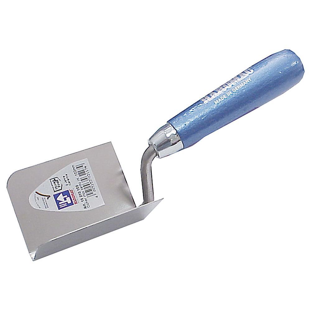 Inneneckenkelle - rostfreier Edelstahl - Winkel 90° - Breite 60 bis 100 mm - Länge 80 bis 100 mm