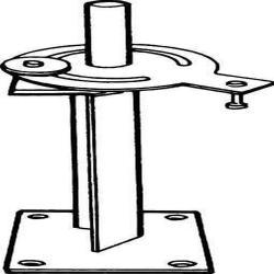 Pöytäkonsoli tasausvarrelle - korkeus 300 mm