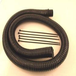 Set di tubi flessibili FS - Ø 32 e 38 mm - lunghezza 1.875 m - vuoto max 60 kPa
