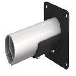 FX2 seinäkiinnike - litteä - teräs - pituus 190 mm - musta