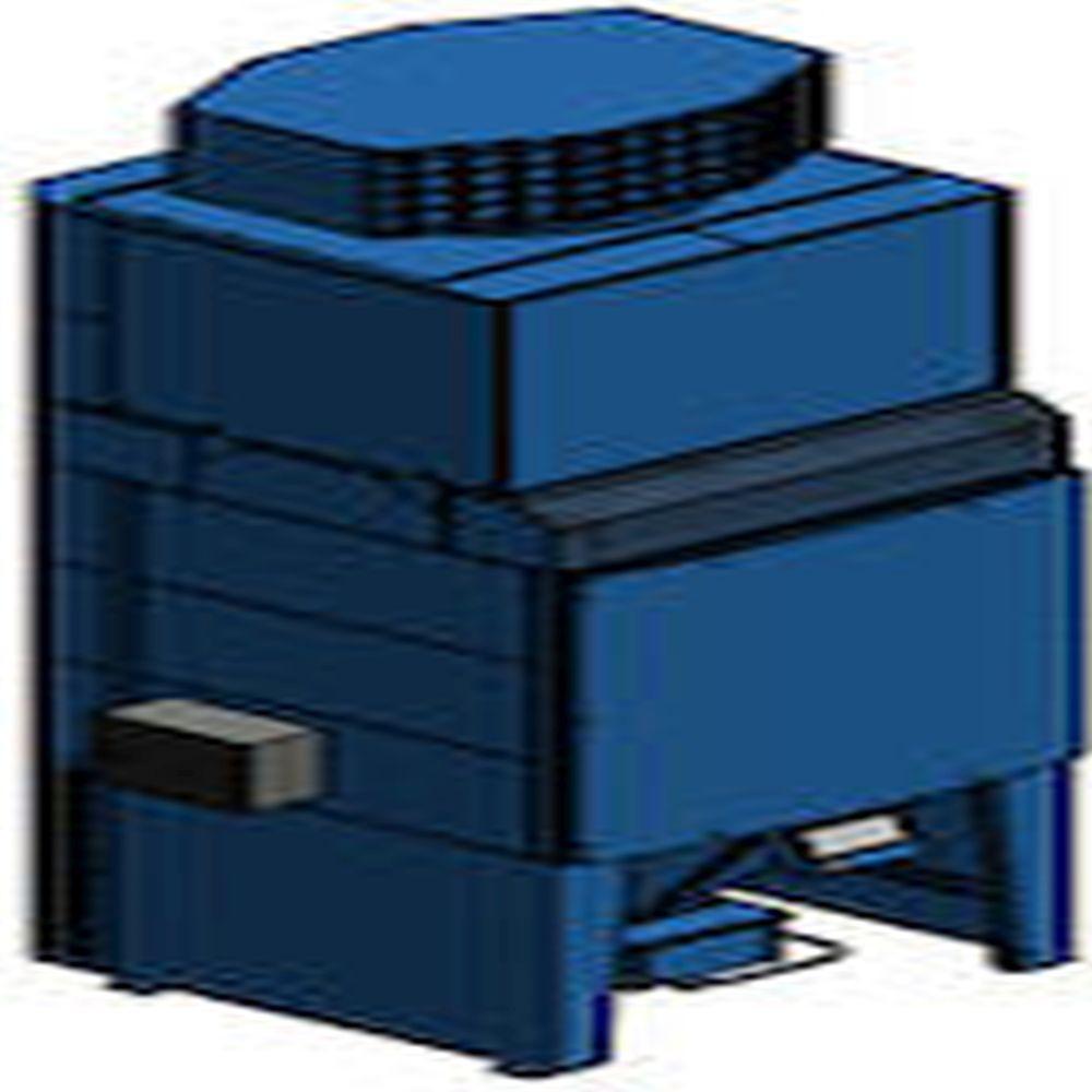 MCP16-RC - Staubbehälter 37 und 50 l - Steuerung linksseitung und rechtssteitig - 4 Modelle
