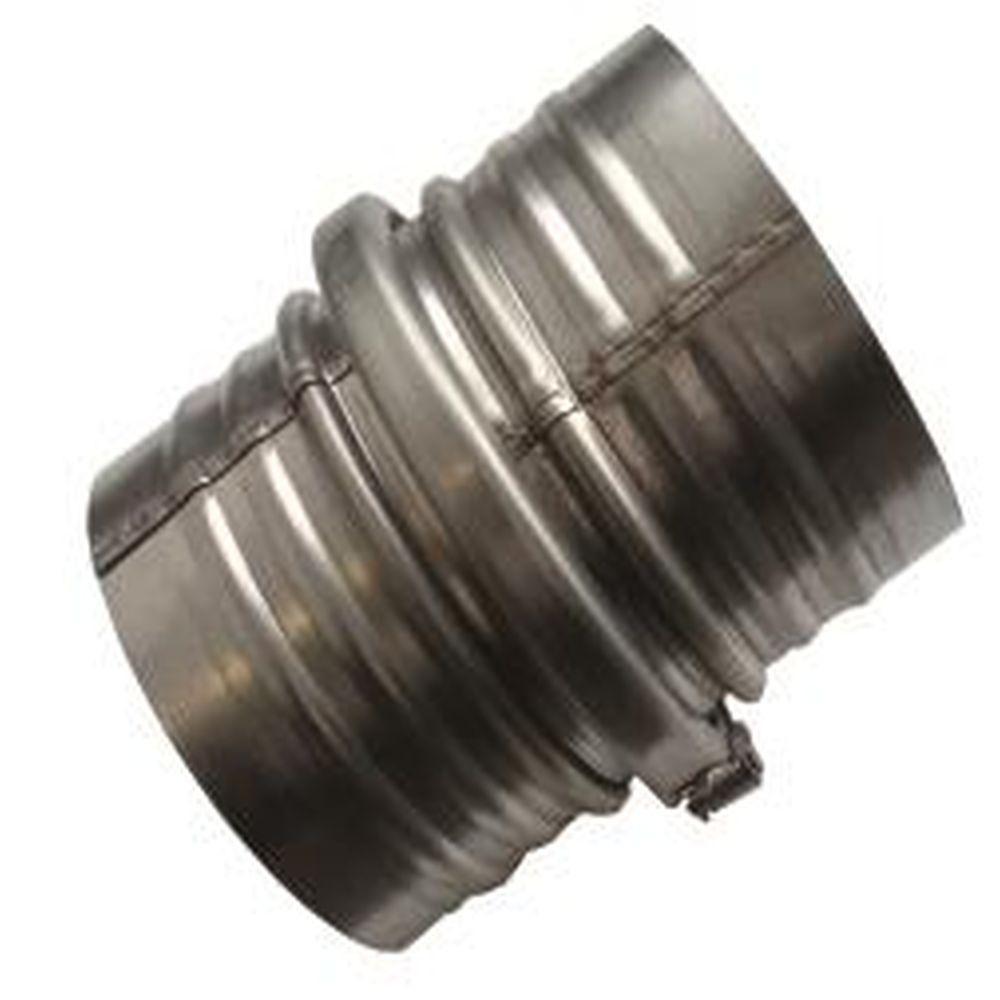 Schlauchkupplung 3-teilig - Ø 100 bis 200 mm