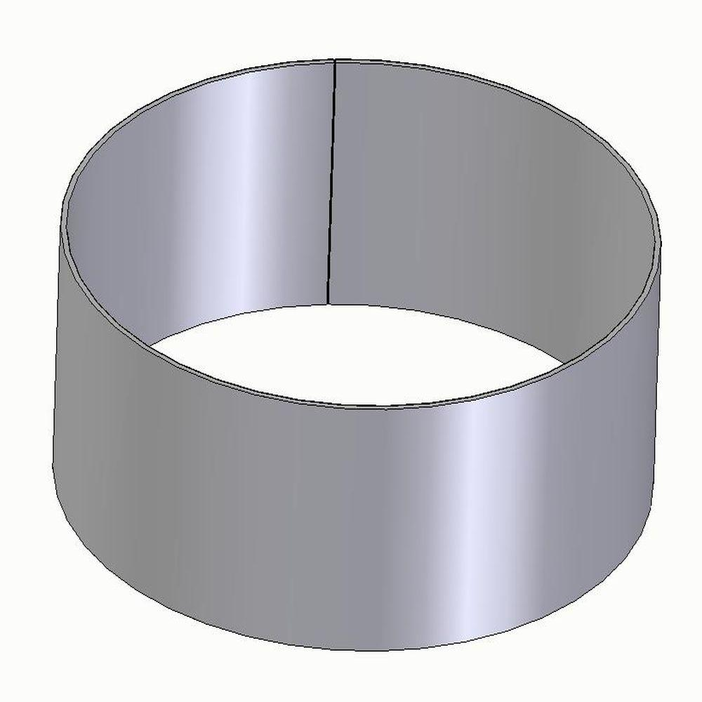 FX2 hose connection ring - steel - Ø 75 to 125 mm