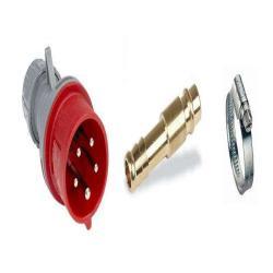 Druckluft + Strom Anschluss-Set FilterBox 400 V