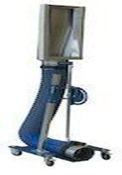 Höhenverstellbares Stativ mit Rollen - Stahl