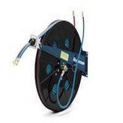 Serie 876 Automatischer Doppel-Schlauchaufroller - Federantrieb - ohne Schlauch - für Azetylen/Sauerstoff oder Brenngase/Sauerstoff - NW 2 x 6,3 mm