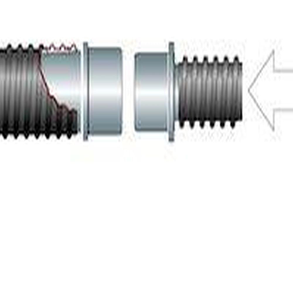 Hochvakuum-Schlauchkupplungen - verschiedene Modelle - für Schlauch-Ø 25 bis 63 mm