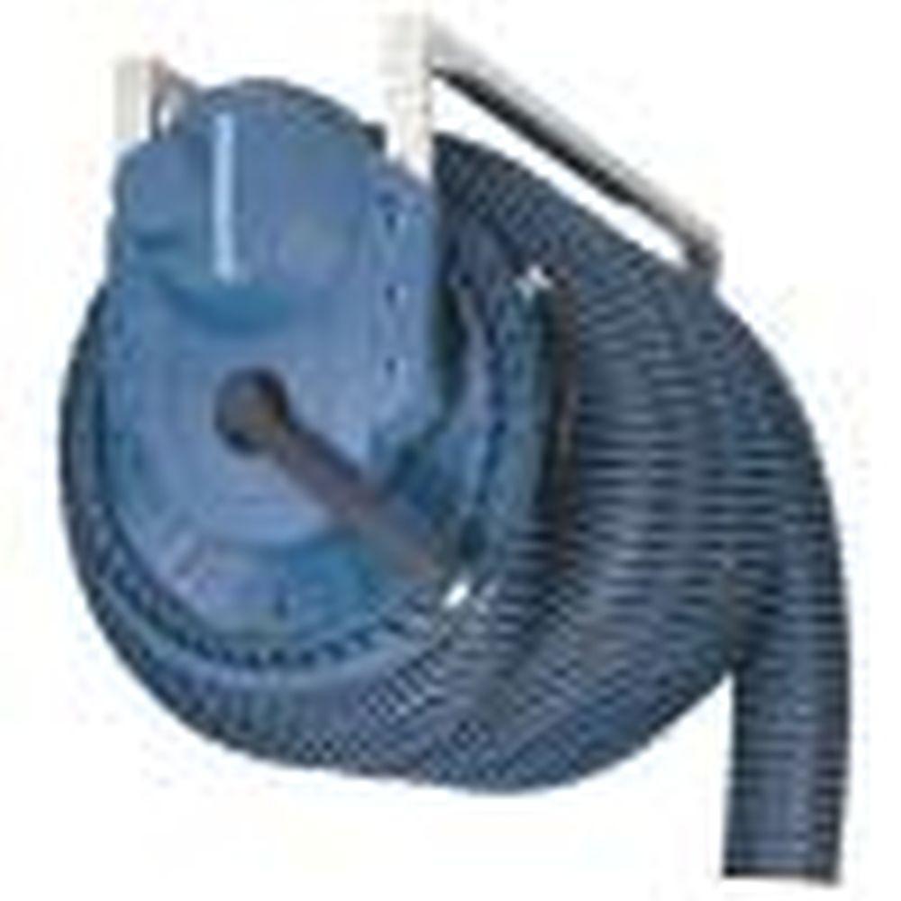 Abgas-Schlauchaufroller Basic - Typ F - mit Schlauch Typ NTP - Ø 100 mm - Länge 5 und 7,5 m