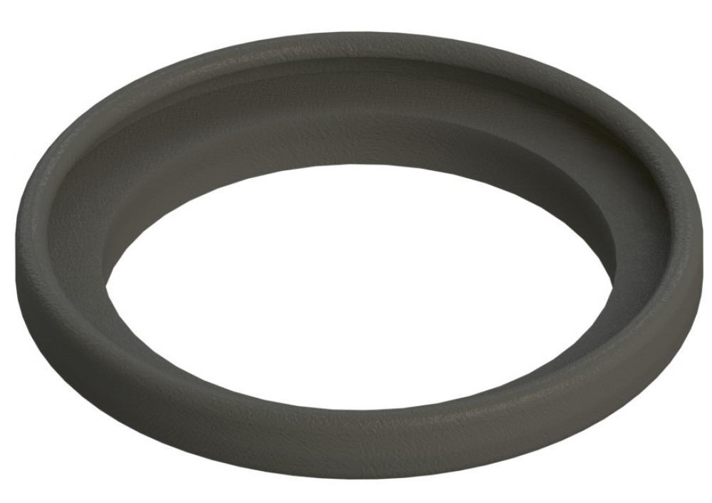 Melkeimerdeckel - Polycarbonat - Deckel-Ø 205 mm - Breite 13 bis 16 mm - Höhe 17 bis 20 mm - 2 Stutzen