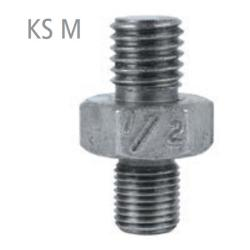 Adapter screw KS M14A - Mixer accessories - Tool holder M 14 / UNF 20