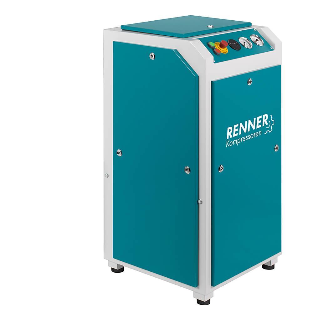 RENNER Schraubenkompressor RS-PRO 3,0 bis 11,0 - 7,5 bar - BAFA - ohne Kältetrockner und Schalldämmbox - verschiedene Ausführungen