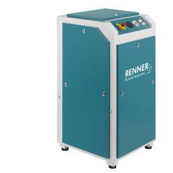 Compresseur à vis RENNER RS et RS-PRO 3,0 à 37,0 - 10 bar - BAFA - sans sécheur frigorifique et capot d'insonorisation - différents modèles