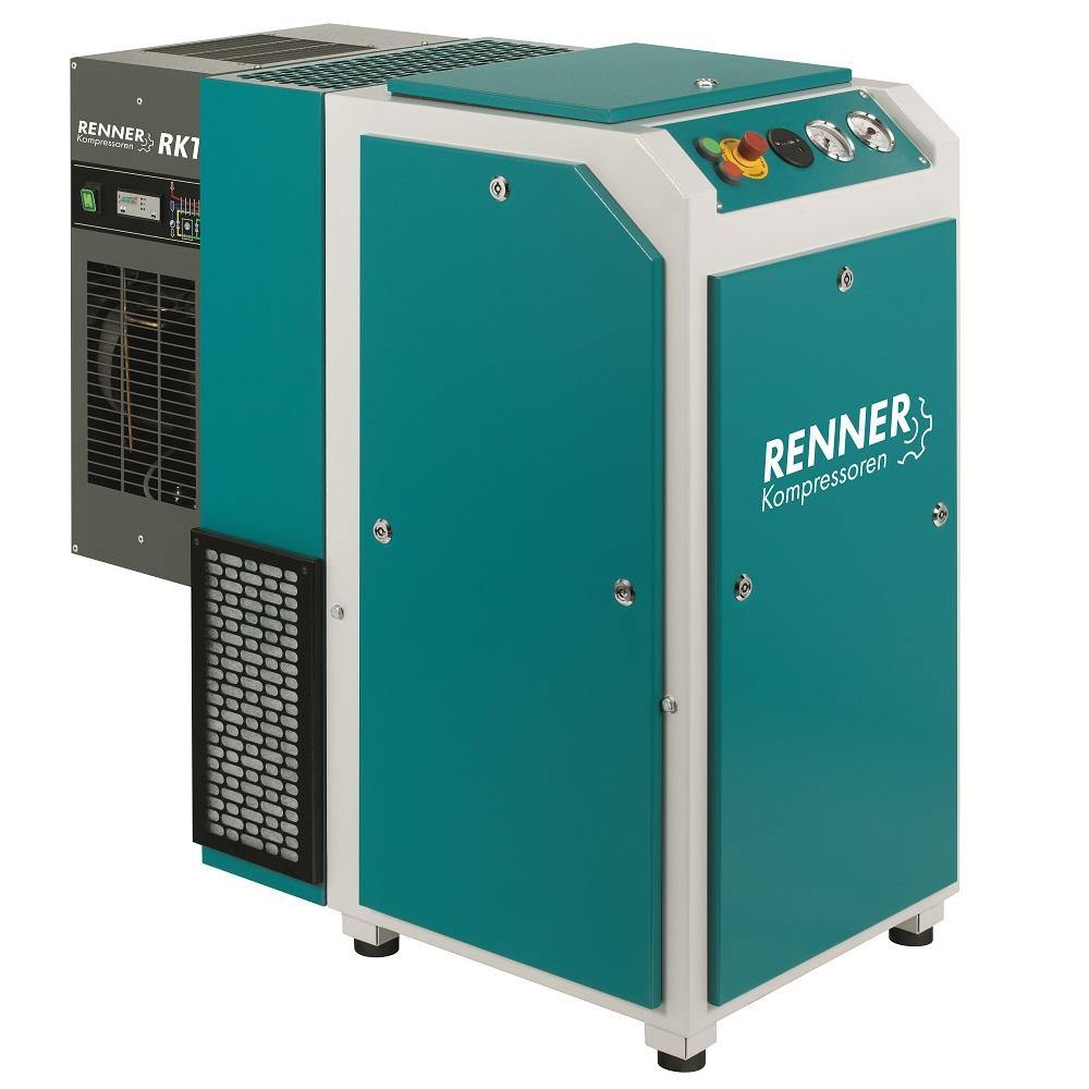 RENNER Schraubenkompressor RSK und RSK-PRO 3,0 bis 45,0 kW - 7,5 bar - mit Kältetrockner - verschiedene Ausführungen