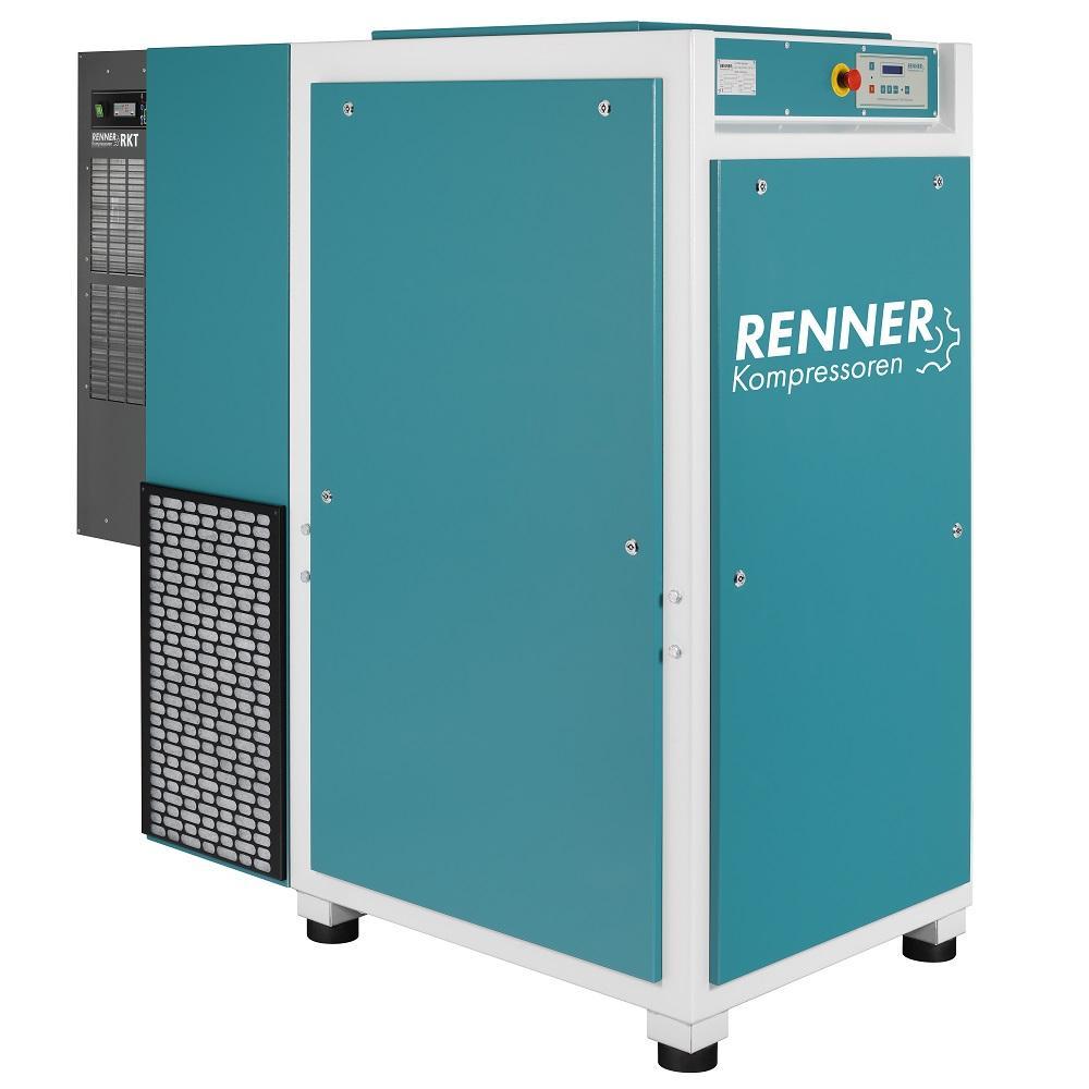 RENNER Schraubenkompressor RSK und RSK-PRO 3,0 bis 45,0 kW - 13 bar - mit Kältetrockner - verschiedene Ausführungen