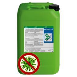 Ytdesinfektionsmedel ANTISEPT -S - alkoholfritt - innehåll 500 ml till 20 l