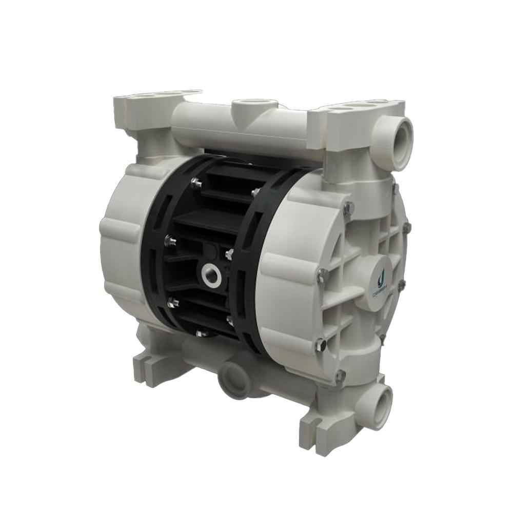 Druckluft-Doppelmembranpumpe Boxer 100 NBR - Gehäuse aus Polypropylen - 160 l/min. - 8 bar