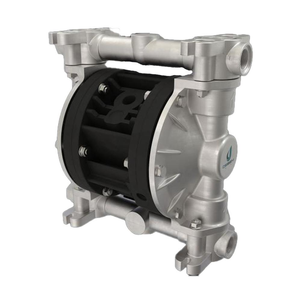 Druckluft-Doppelmembranpumpe Boxer 50 - NBR - Gehäuse aus Aluminium - 60 l/min - 8 bar