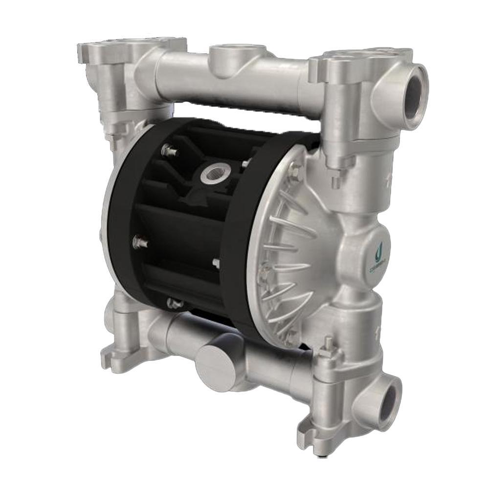 Druckluft-Doppelmembranpumpe Boxer 90 - NBR - Gehäuse aus Aluminium - 110 l/min - 8 bar