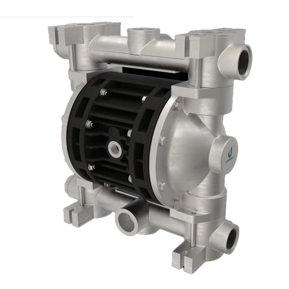 Druckluft-Doppelmembranpumpe Boxer 150 - NBR - Gehäuse aus Aluminium - 220 l/min - 8 bar