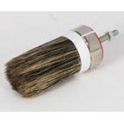 Restposten - Winkelpinselköpfe - Größe 8 - Nischenpinsel (Knolle) - Chinaborste - für Farben, Lacke etc. - Preis per Stück