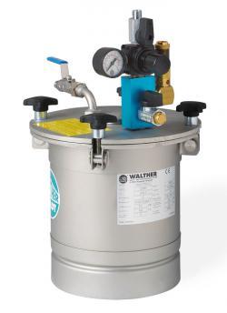Materialdruckbehälter - Nutzinhalt 3,5 l - bis 6 bar - Edelstahl